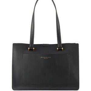 Donna Karan - Karla Leather Shoulder Tote Bag